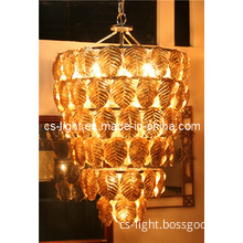 Glod Color Hotel Lobby Chandelier/Glass Big Chandelier Lamp/Decorative Lamp/Light