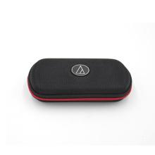 Étui de transport pour écouteurs en nylon durable rectangulaire en caoutchouc créatif