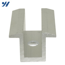 aluminum PV solar panel Mounting accessory with long lifetime