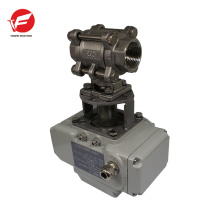 Using simply valve electric actuators for under-floor,rain water