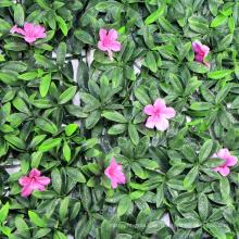 Decoración de pared de imitación de flores hiedra artificiales árboles de bambú al aire libre