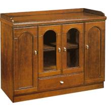office furniture design modular wood cupboard with glass doors