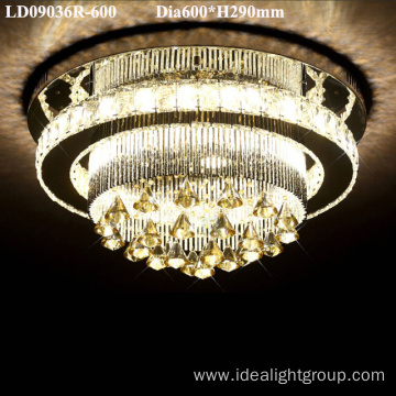 led ceiling light luxury decorative wedding chandelier