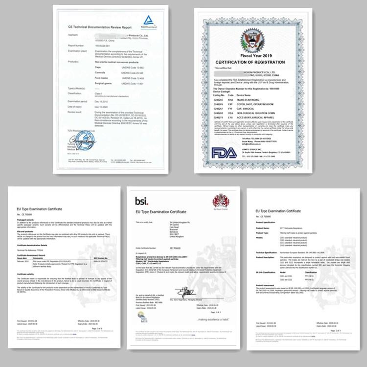 Mask Certificate 2