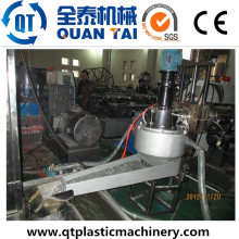 HDPE PP Flakes Recycling Pelletizing Production Line / Granulating Machine