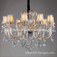 New Design Crystal Pendant Lamps for Hall