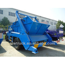 Dongfeng 140 garbage truck for sale,Dongfeng 140 garbage truck for sale,6000L arm roll garbage truck