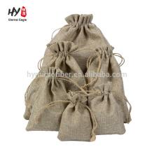 custom size multipurpose linen pouch bag