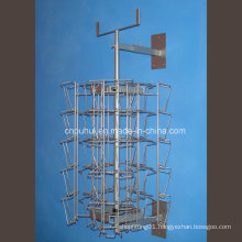 Metal Wire Wall Mounted Card Rack (pH16-366)
