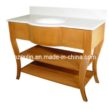 Modern Solid Wood Bathroom Vanity (B-51B)