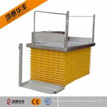 Elevador de silla de ruedas barato CE / elevador de china / cremallera y piñón