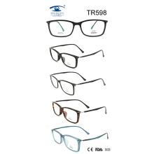 Moldura óptica Tr90 de moda (TR598)