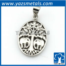 customize design pendant, custom made elephant and elephant pendant