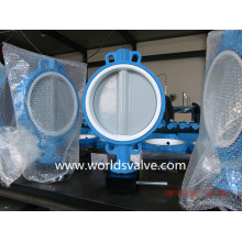 Wafer Type Butterfly Valve con disco Nylon11