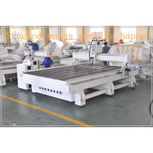 Woodworking Wood furniture SG 2.0*3.0m three heads cnc router machine