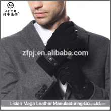 Atacado de baixo preço de alta qualidade Handmade luvas de couro