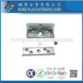 Taiwan Stainless steel 18-8 Copper Brass Bed Fittigs Bed Assembly Hardware Bed Frame Hardware