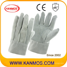 Vollständige Rindsleder Arbeitsschutzhandschuhe (11022)