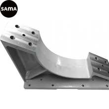Carcaça do ferro da máquina-instrumento do OEM pela carcaça de areia