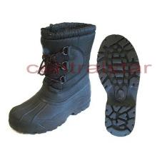Moda impermeável mid-bezerro botas de neve de inverno (sb040)