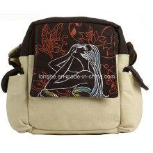 Fashion Portable Canvas Ladies Sport Bag (ZXS0023)