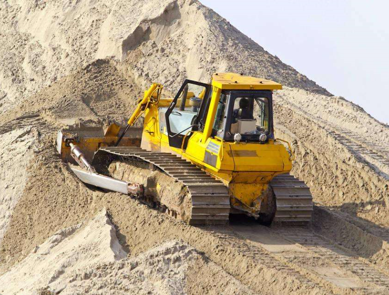 Crawler Bulldozer for Construction
