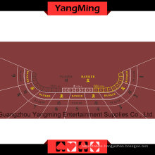 Casino Table Layout -9p (Red color) Ym-Bl100g