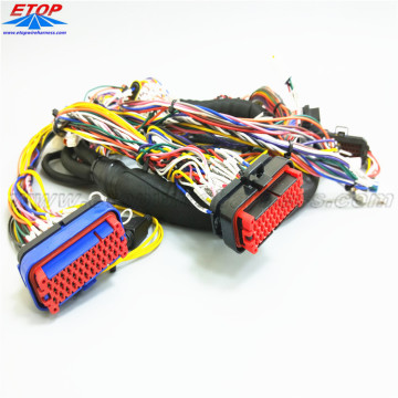 OEM / ODM Kawat Harness Assy Dengan Molex Sealed Connector
