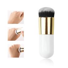 Pinceaux de base pour maquillage à la crème plate