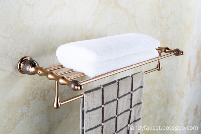 SHOWER BRASS SHELF