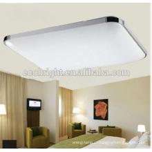 Nueva moda led techo montado cómodo suave iluminación moda salón cuadrado lámpara led techo luz