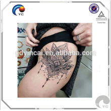 Sexy hips tattoos body art temporary tattoo sticker with competitive price(custom design) Hips sexy tattoo sticker with beauty design stylish and fashionable<<< Bright Flower Tattoo Hips<<<