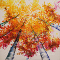 High Quality Reproduction Oil Painting for Silver Birch