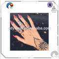 Henna tattoo mehndi style Water transfer body art tattoo fake temporary tattoo sticker