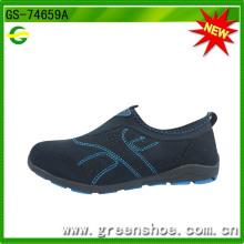 Горячая продавая популярная повелительница вскользь обувь (GS-74659)