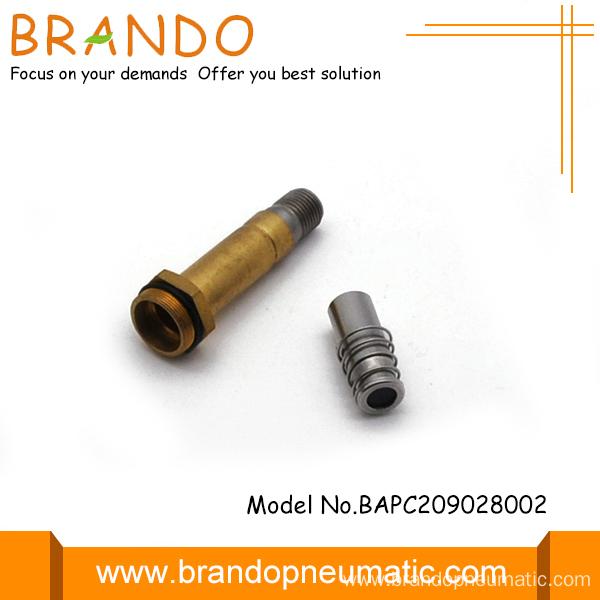Way brass tube v solenoid valve plunger china manufacturer