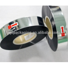 Sliver capacitor metalised VMBOPP plastic film