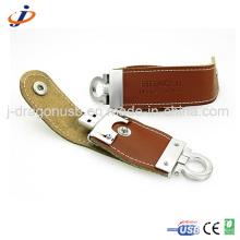Popular Brown Leather USB Flash Drive JL011