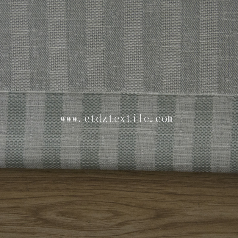 6010-52 Popular Modern Linen Jacquard Window Curtain fabric