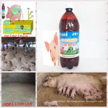 Organischer Dünger, organischer Dünger Fermentationsbakterien