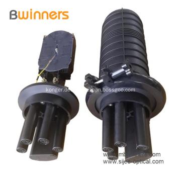Vertikaler Glasfaser-Spleiß-Verschlusskasten
