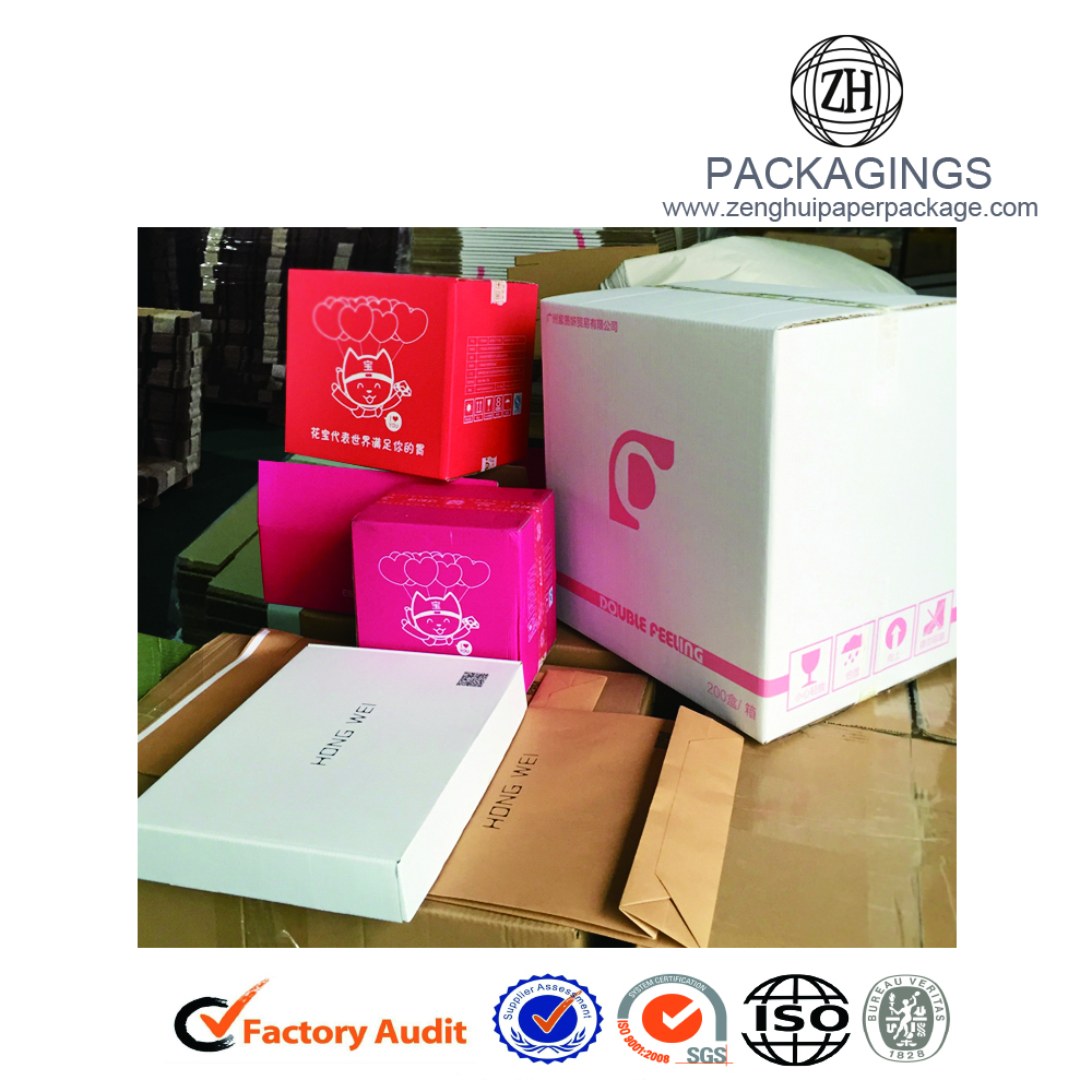 High end corrugated cardcardboard apparel box