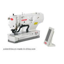 Zuker computadora Juki recta botón Holing máquina de coser Industrial (ZK1790ASS)