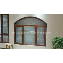 Cadre en bois massif de luxe Fenêtre en verre / Fenêtre en bois / Lèche-vitre Fenêtre en bois
