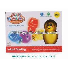 2013 горячие продажи детей стакан боулинг мяч набор