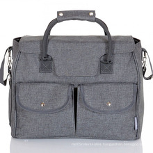 Hot Selling Travel Pockets Tote Diaper Bag
