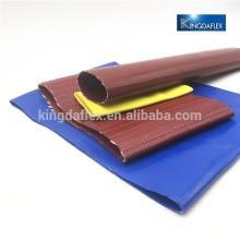 Material PVC / Tpu 25m 50m 100m flexibler Wasser-Layflat-Schlauch