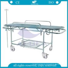 AG-HS015 CE genehmigt Krankenhaus Möbel Transfer Edelstahl medizinische Bahre