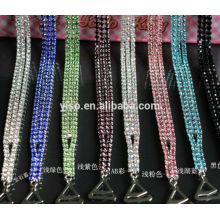 Alças de sutiã de jóias coloridas