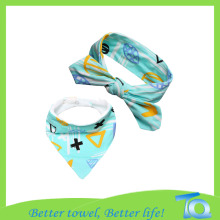 100% Organic Cotton Bandana Baby Bibs Wholesale